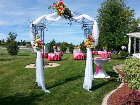 Wedding Arch Rental Uk by Wedding Decorations With Arch Choice Image Wedding Dress