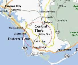 us time zones florida map cape san blas 171 every county