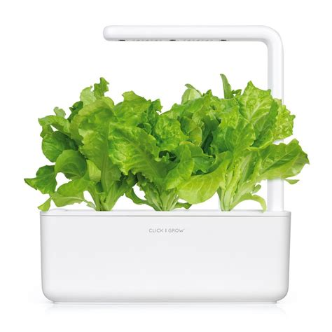 click and grow lettuce growth refill for indoor herb garden click grow