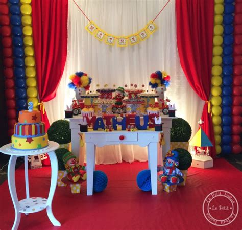 Decor And Home by Festa Infantil Circo Patati Patat 225 Le Petit Festas