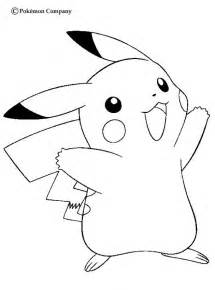 what color is pikachu happy pikachu coloring pages hellokids