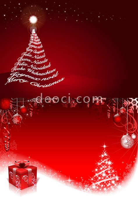 design xmas poster free red christmas christmas tree posters advertising