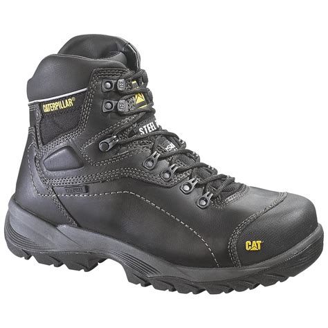 caterpillar s diagnostic steel toe waterproof boot s caterpillar 174 diagnostic hi waterproof steel toe work