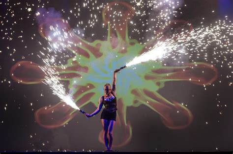 amazing light show fire performers for hire entertainment for events fire