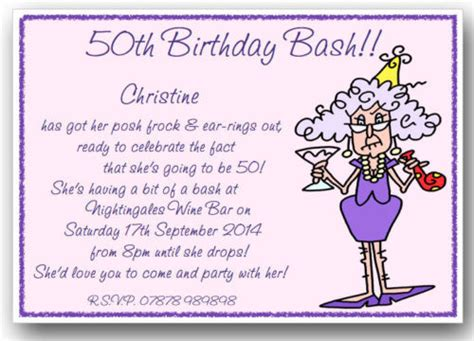 free templates for awesome 50th birthday cards birthday invitations templates ideas