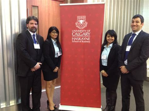 Mba Calgary by 2013 Haskayne 24 Hour Competition A Few Minds