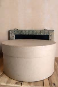 How To Make A Paper Mache Box - paper mache hat box 10x5