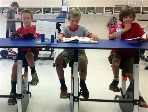 Exercise Chair For Classroom by Why Exercise Desks Could Help Children Learn