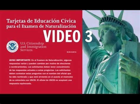 preguntas de inmigracion en espanol gratis como pasar el examen de ciudadania americana en espa 209 ol