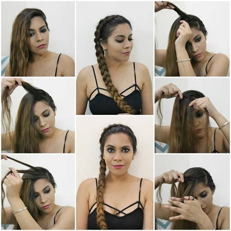 easy hairstyles for school no braids easy side braid no heat 5 minute hairstyle