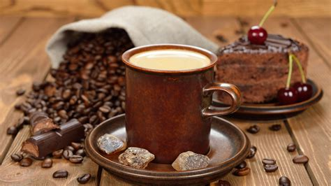 best wallpaper coffee download wallpaper 1600x900 coffee beans cup sugar hd