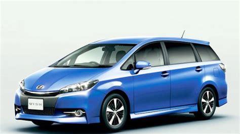 2019 Toyota Wish by 2019 Toyota Wish Rumors Interior And Price Toyota