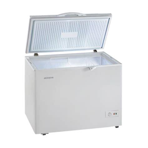 jual modena md 20 chest freezer harga kualitas terjamin blibli