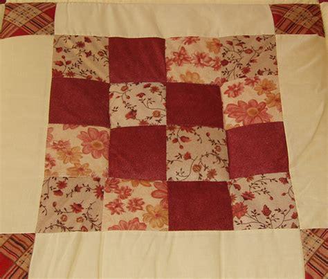 Patchworks Quilt Shop - quilt rot karo tollezeit