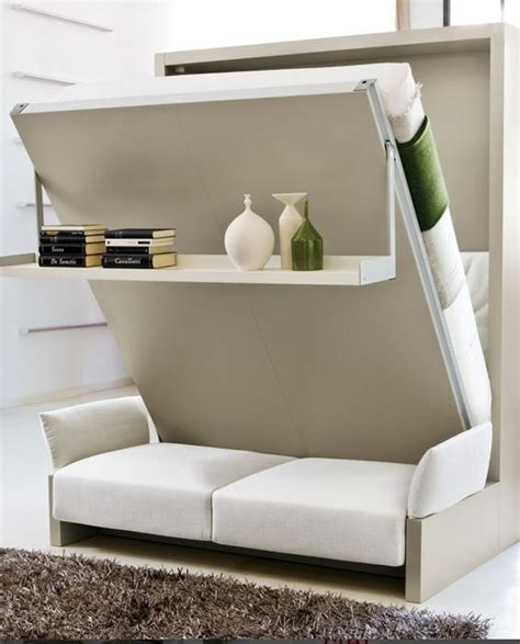 fold away wall sofa nuovoliol 193 10 storage wall with fold away bed by clei