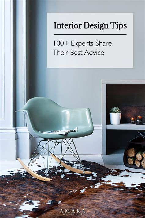 interior design tricks interior design tips 100 experts share their best advice