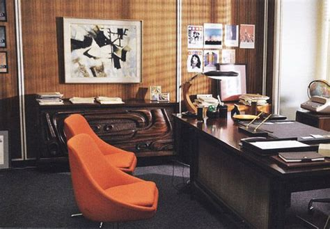mad men furniture don draper s office the mid century modernist don drapers office the deskl is a quot fase quot l quot mad
