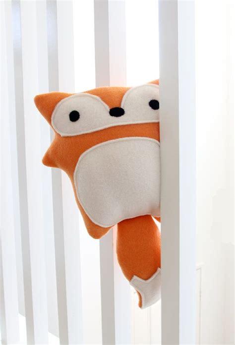 yeti plush pattern by amanda tepie red fox plush toy evelyn adorable cute soft fleece