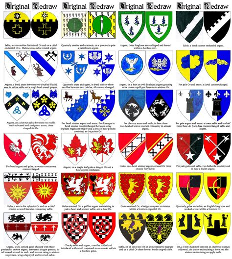 the complete book of heraldry an international history of heraldry and its contemporary uses books heraldry redraws 2 by sigrdrifa1 on deviantart