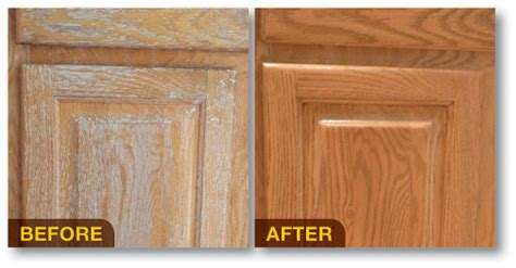 Cabinet Restore by Wood Cabinet Restoration