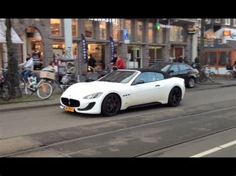 Brand New Maserati by Brand New Maserati Grancabrio Sport 2013 In Amsterdam