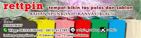 Slingbag Custom Sablon Nama Sendiri Murah goody bag tote bag polos murah