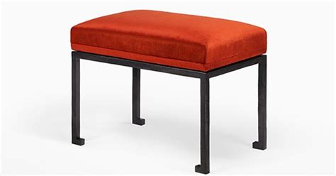 holly hunt ottoman holly hunt arno bench benches ottomans pinterest