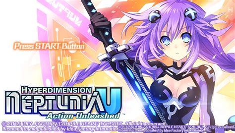 Psvita Hyperdimension Neptunia U Unleased R1 hyperdimension neptunia u unleashed review remocon