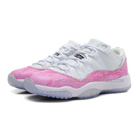 womens air jordan 11 c womens air jordan 11 gs pink snakeskin white cherry pink