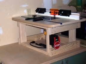 benchtop router table plans woodworking projects plans
