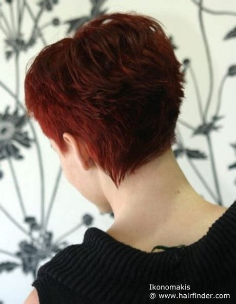 hair styles with front and back views short haircuts front and back view
