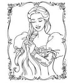 barbie princess coloring pages fantasy coloring pages