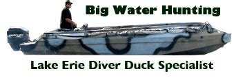 layout hunting lake erie hunting lake erie diver duck specialist