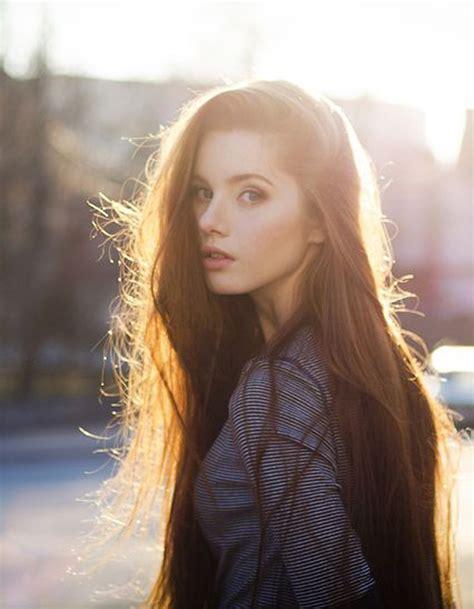coupe de cheveux long femme hiver 2015 coiffure cheveux