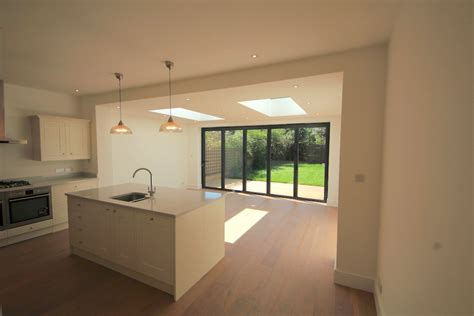 One Bedroom Flat Wimbledon Rear Extension With Grp Flat Roof South Dps Ltd
