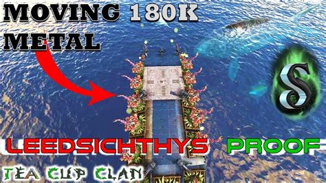 motorboat on ark how to move 180k metal using a leedsichthys proof