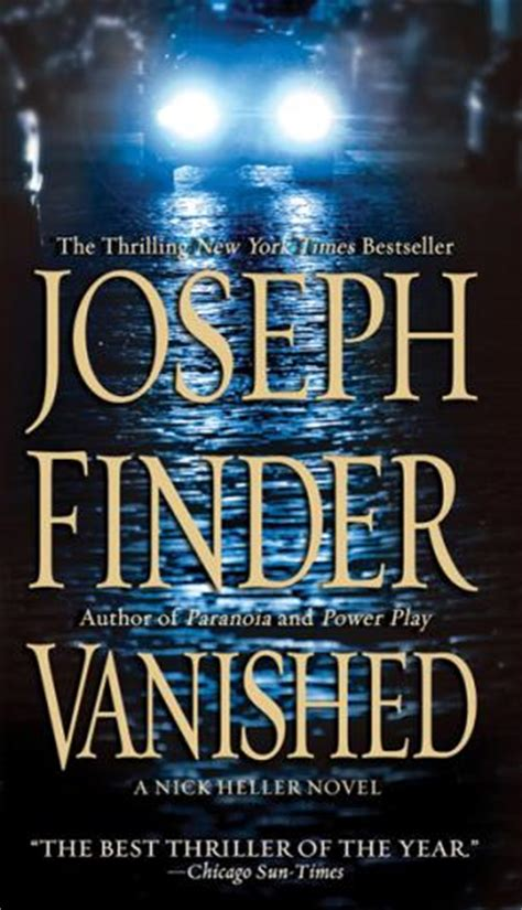 vanished a novel books vanished