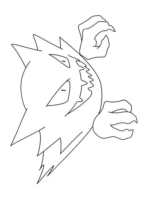 pokemon coloring pages haunter roblox logo coloring pages