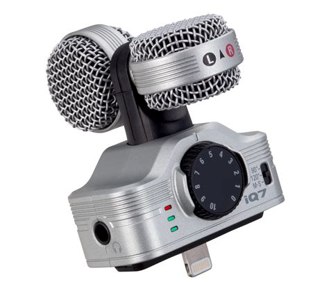 zoom iq professional stereo microphone  ios zoom