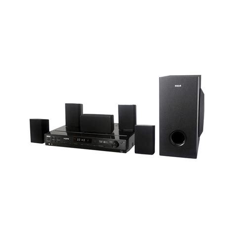 rca refurbished rca 1000w 5 1 hdmi home theater system