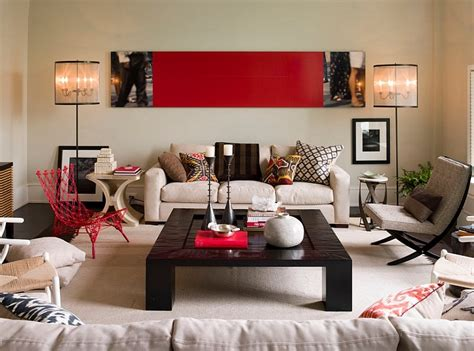 living room with red accents red living rooms design ideas decorations photos