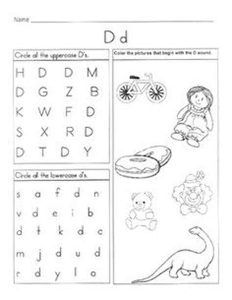letter d worksheets 1000 images about letter d worksheets on 1360