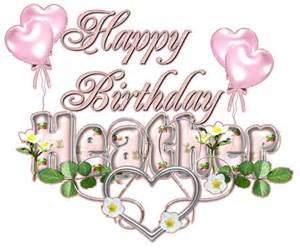 Image result for Happy birthday Heather