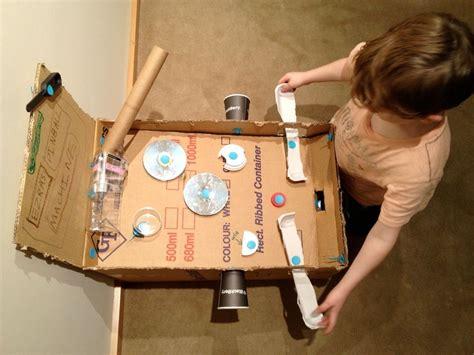 for to make at school makedo pinball machine pinball craft and cardboard boxes