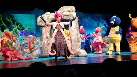 Backyardigans The Sea The Backyardigans Sea In Adventure Live Tour Vs