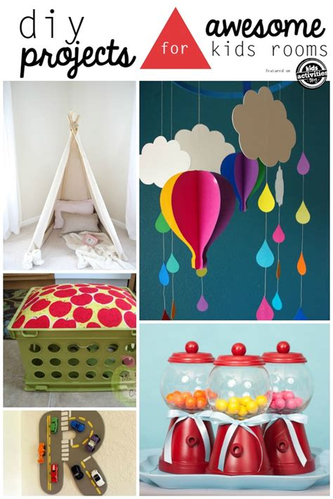 diy projects for kids 25 creative diy projects for kids rooms