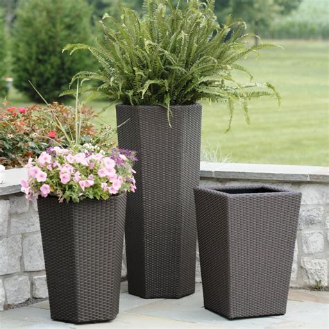 Large Planters by Beautify Your Garden With Large Garden Planters Front