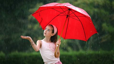 wallpaper hd umbrella girl girl in rain profile dp for whatsapp and facebook