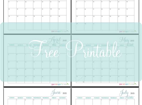 printable monthly planner 2015 free 9 best images of free printable 2015 bi monthly calendar