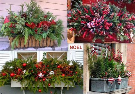 Idee De Decoration De Noel by Deco Jardin Noel Pas Cher